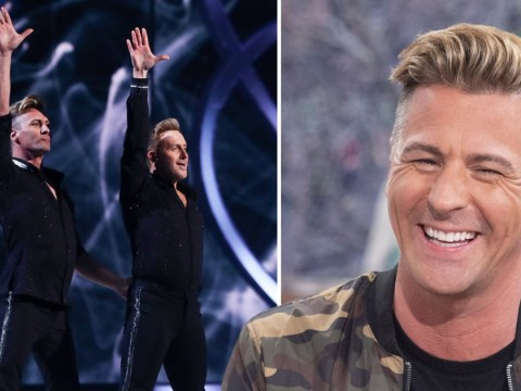Dancing on Ice: Matt Evers laughs off homophobic Ofcom complaints over same-sex routine with Ian 'H' Watkins