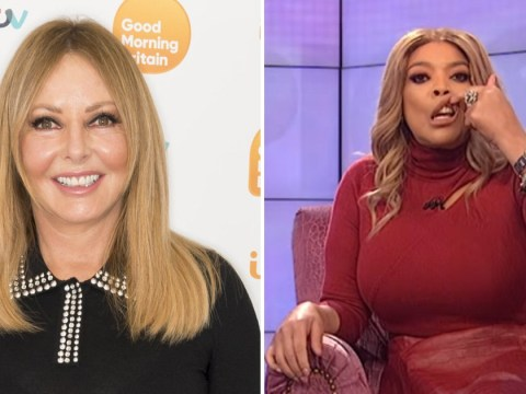 Carol Vorderman 'disgusted' with Wendy Williams for mocking Joaquin Phoenix with 'cleft lip' joke
