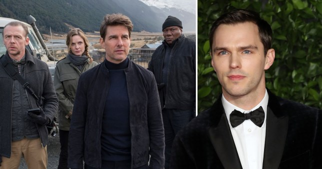 Nicholas will join Hayley Atwell and Pom Klementieff in films 7 and 8 (Picture: Paramount/Rex/FilmMagic)