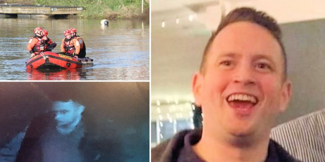 Police say a body believed to be mising firefighter Anthony Knott has been found (Picture: Eddie Mitchell; PA)