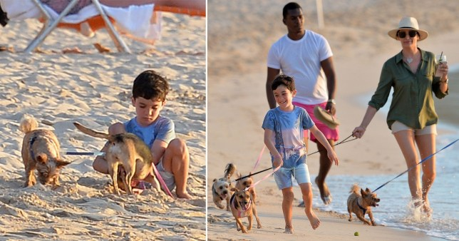 Simon Eric Cowell dogs