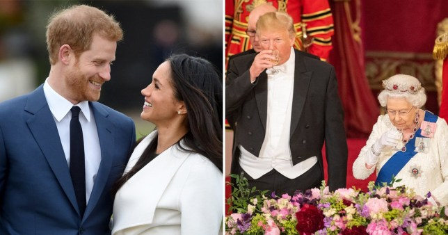 Donald Trump says Harry and Meghan drama 'shouldn't be happening to the Queen'