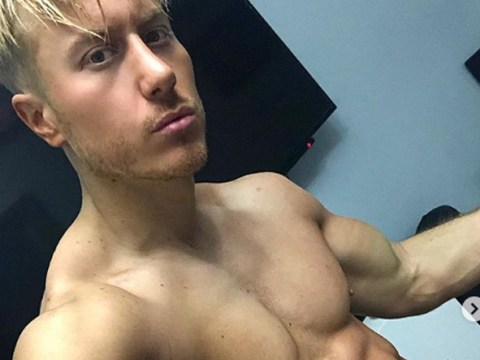 Kris Boyson hits back at trolls' claims his six pack is 'Photoshopped' with topless video