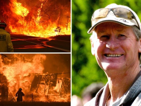 Veteran firefighter killed by falling tree while tackling Australian wildfires