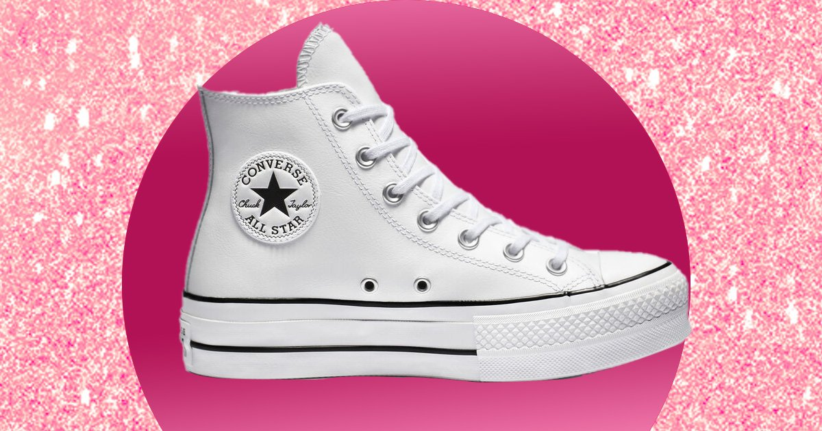 Converse is selling a wedding collection for brides and
