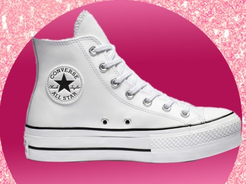 Converse is selling a wedding collection for brides and grooms