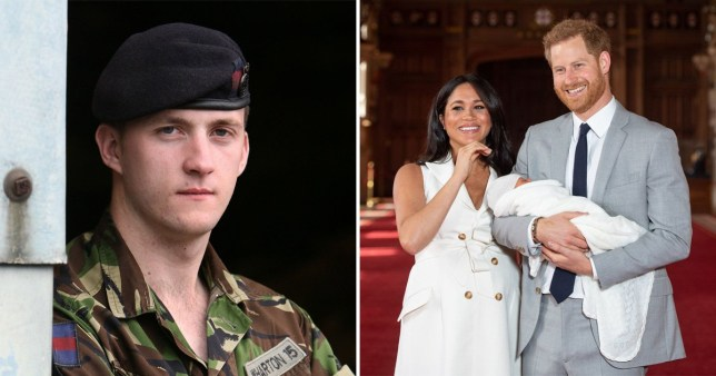 Caption: Ex-soldier who worked with Harry said he wasn\'t surprised at decision as he was always \'so at ease\' away from royal life Credit: REX/PA