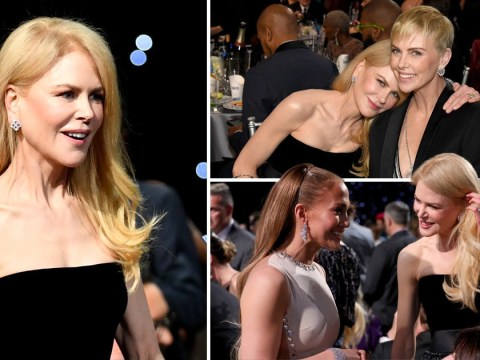 Critics' Choice Awards: Nicole Kidman knows literally everyone as she banters with Jennifer Lopez and Charlize Theron