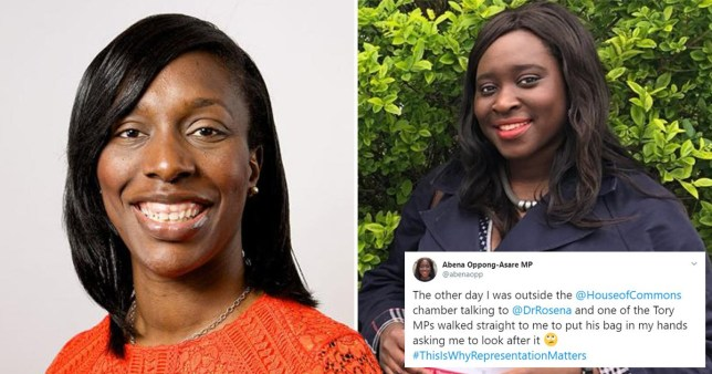 Florence Eshalomi and Abena Oppong-Asare
