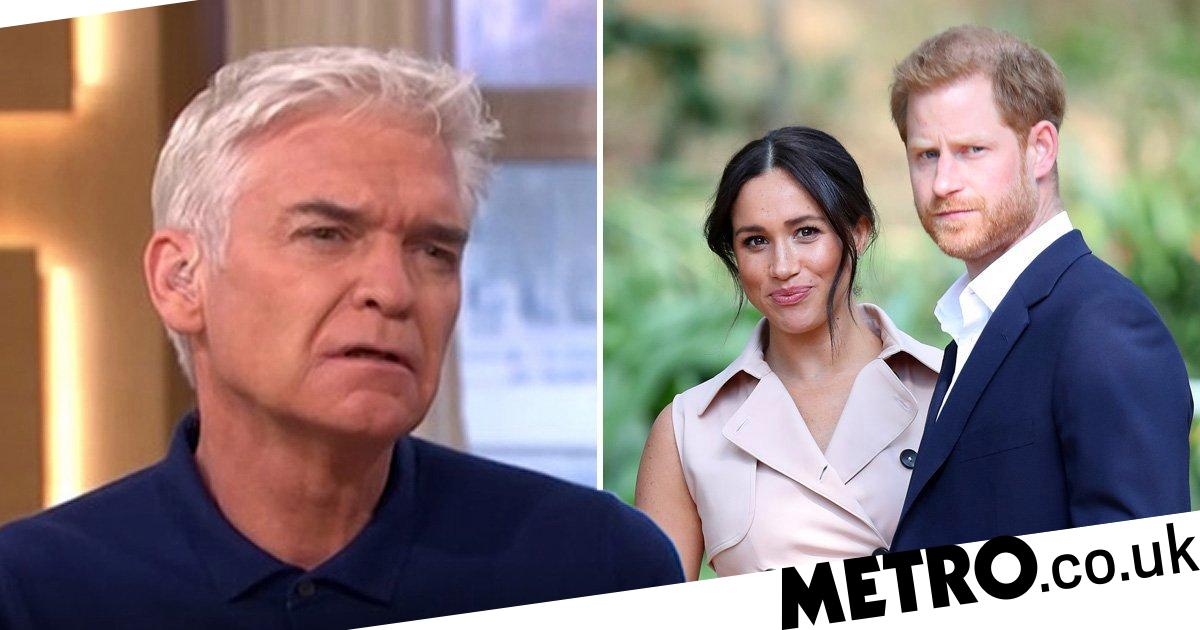 Phillip Schofield schooled on white privilege over Meghan Markle racism debate
