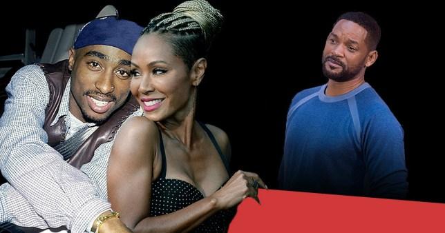 Will Smith, Tupac Shakur, Jada Pinkett Smith