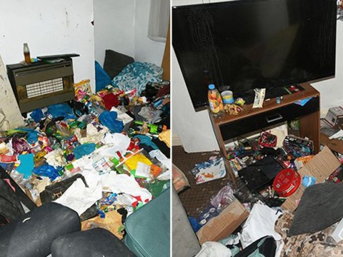 Boy, 7, found living in 'rubbish tip' home surrounded by heroin needles and rotting food