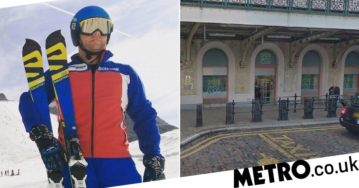Blind Paralympian 'might sue' M&S for telling him to leave guide dog outside five times