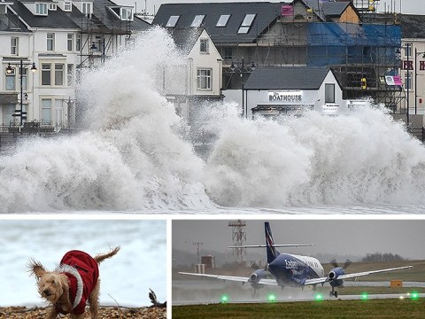 Severe gales and rain to last 48 hours after Storm Brendan batters UK