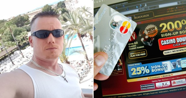 Stephen Bass recovered gambling addict