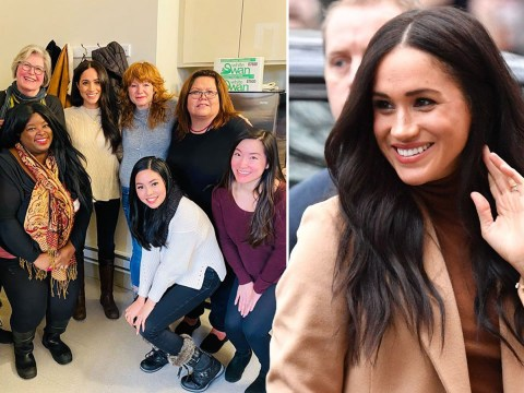 Meghan Markle seen for first time since heading back to Canada to see Archie