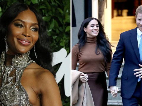Naomi Campbell backs Harry and Meghan in royal drama: 'I support them whatever'