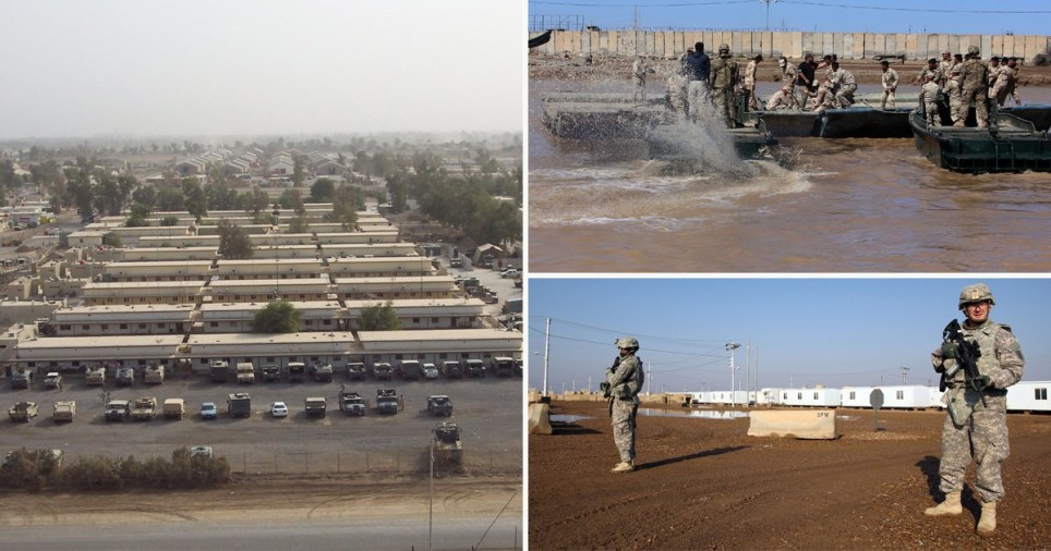 Missile strike on Us base in Iraq that houses 200 Brits