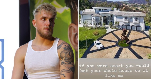 Jake Paul and Team 10 house