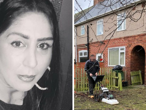Police search back garden for grandmother missing for nearly two years