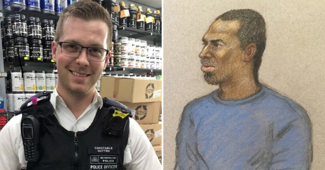 Policeman 'could have been killed in savage machete attack' during traffic stop