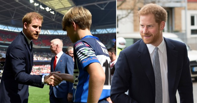 Prince Harry will host the Rugby League World Cup 2021 draw at Buckingham Palace today