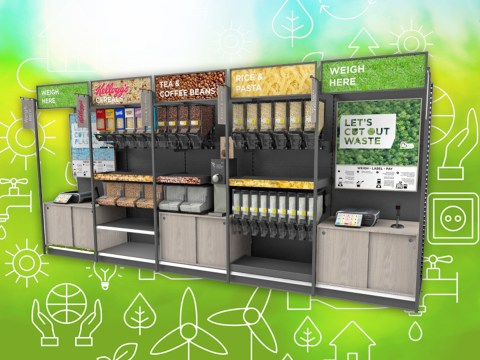 Asda is offering refill stations at 'sustainability store' to cut down on plastic