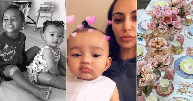 Chicago West is pretty in pink for 2nd birthday as Kim Kardashian goes all out for Minnie Mouse party