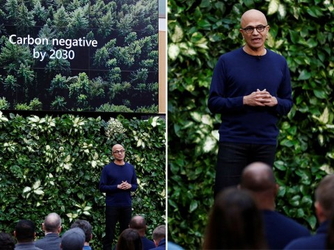 Microsoft pledges to erase its entire carbon footprint by 2050