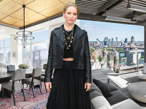 Inside Jennifer Lawrence's $12m New York penthouse – from snooker tables to an outdoor kitchen