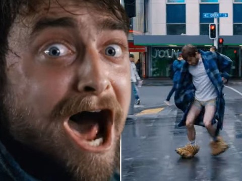 Daniel Radcliffe's film is pretty far from Harry Potter – and we're into it