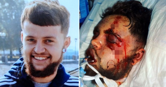 Killer David Braddon stamped on Conner's head, took off his clothes and beat him with a metal pole in an unprovoked attack (Picture: Wales News Service)