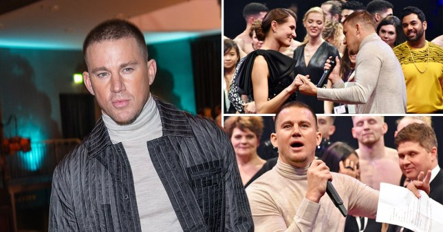 Channing Tatum looks suave as he attends Magic Mike opening in Berlin amid Jessie J 'reunion'