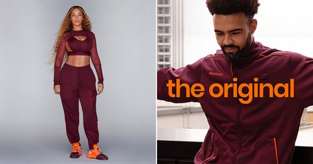 Sainsbury's hilariously throw shade at Beyonce's new Ivy Park collection for stealing their style