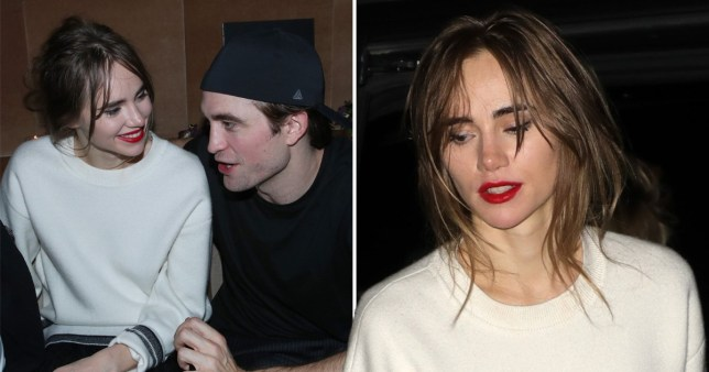 Robert Pattinson and girlfriend Suki Waterhouse