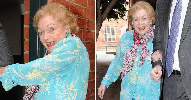 Betty White still styling at 98 as she rocks bright look for birthday