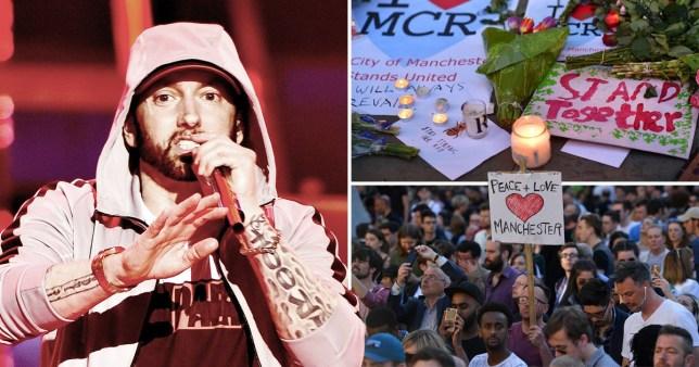 Eminem fans defend rapper over Manchester bombing lyrics