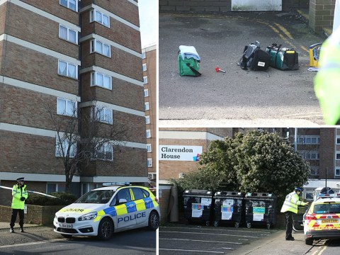 Man arrested on suspicion of murder after woman falls from seventh floor flat