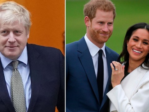 Boris Johnson says 'country wishes Harry and Meghan the very best' for their new future