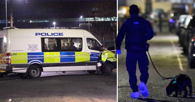 Triple stabbing in east London