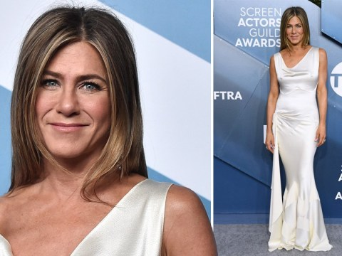SAG Awards 2020: Jennifer Aniston stuns in white gown as she confirms whether she'll join TikTok