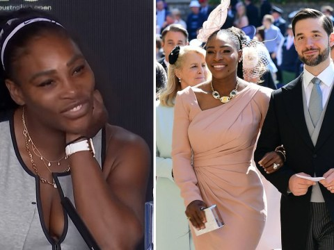 Serena Williams isn't at the Australian Open to talk about Meghan Markle as she expertly shuts down question