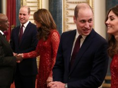 Prince William hosts first reception after Harry flies home to Meghan