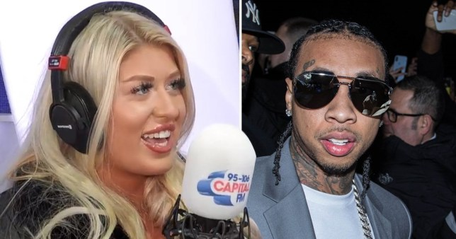 Eve Gale and Tyga