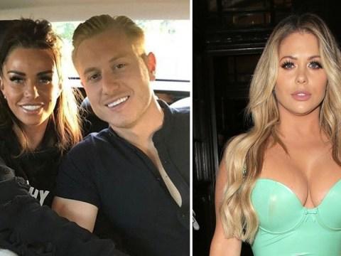 Katie Price calls Bianca Gascoigne a 'beg' for flirting with her ex Kris Boyson on Instagram