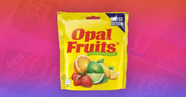 Opal Fruits became Starburst 22 years ago but now they are back on our shelves