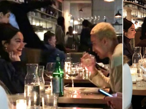 Vanessa Hudgens sparks rumours she's dating again after being spotted at dinner with Kyle Kuzma