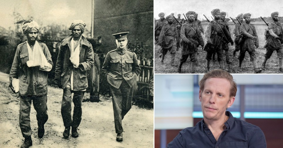 Laurence Fox and Indian Army in World War One