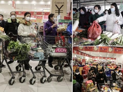 Coronavirus ground zero hit by panic buying as all transport is stopped