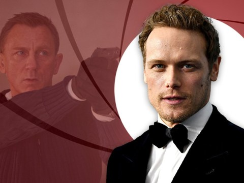 Outlander's Sam Heughan remains coy over James Bond rumours ahead of No Time To Die